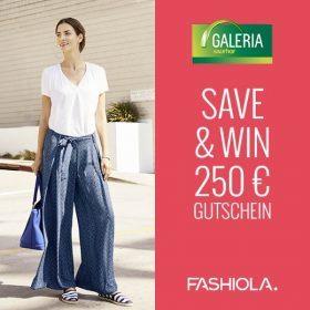 Save & Win einen 250€ GALERIA Kaufhof Gutschein!