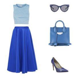 Ton-in-Ton: Von Azur- bis Babyblau