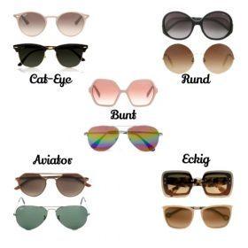 Die perfekte Sonnenbrille für deine Gesichtsform!