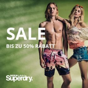 Tokyo meets New York: SALE bei Superdry!