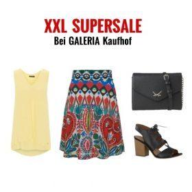 Letzte Chance für Schnäppchenjäger: XXL SUPERSALE bei GALERIA Kaufhof!