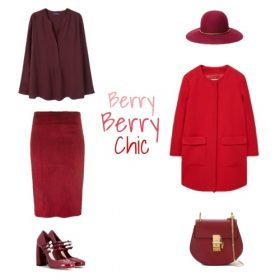 Ton-in-Ton: Berry Berry Chic