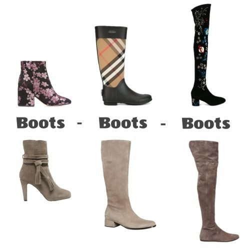 Stiefeletten, Stiefel, Overknees: THESE Boots were made for Walking!