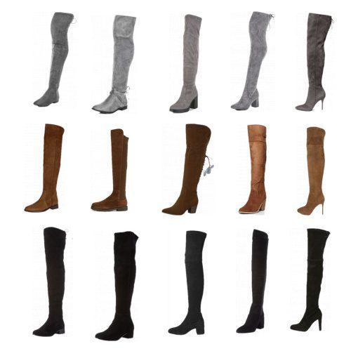 Overknee Boots - 3 Styling Ideen