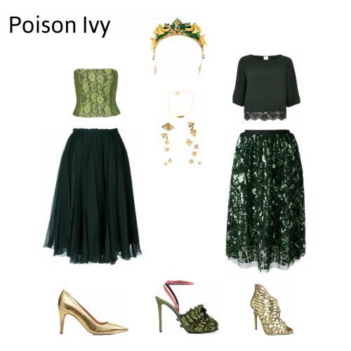 Tote Prinzessin, Modern Vampire, Poison Ivy - unsere Top 3 Halloweenkostüme