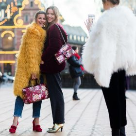 How to Wear: Fake Fur Mäntel