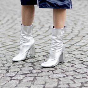 Metallic Schuhe kombinieren – So stylt ihr den Metallic Trend richtig