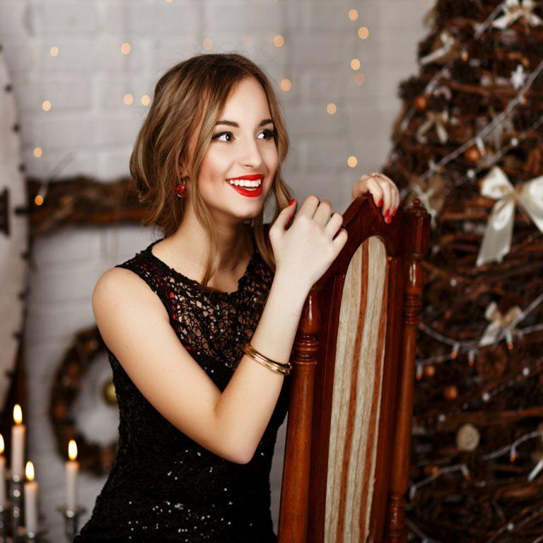 Festliche kleidung damen weihnachten