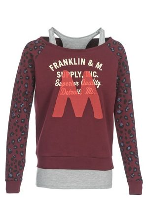 Damen Sweatshirts - Franklin & Marshall Franklin Marshall Sweatshirt MANTECO