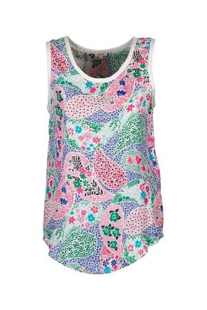 Manoush Tank Top PAISLEY RETRO
