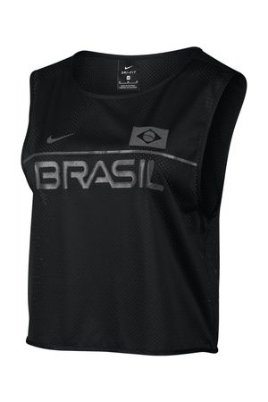 Damen Kleider - Nike T-Shirt Dry Energy Brazil SL Top Women