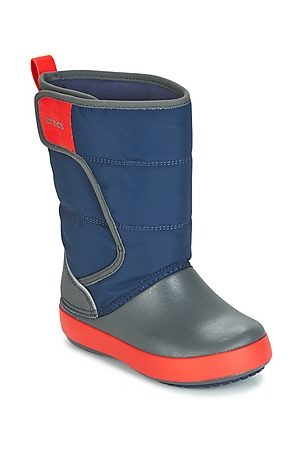 Enfants Unisexes Lodge Crocs Point Enfants De Snowboots-ski - Bleu - 33/34 Eu T2rDcB