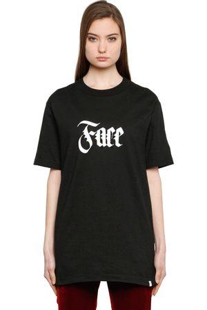 FACETASM T-shirt Aus Baumwolle Mit Gesichtsdruck