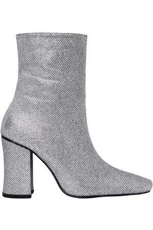 DORATEYMUR Damen Stiefeletten - 90mm Hohe Knöchelstiefel Aus Glitzerstoff