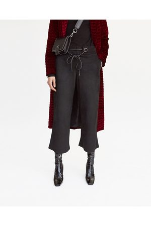 Gebeana FAUX SUEDE CULOTTES