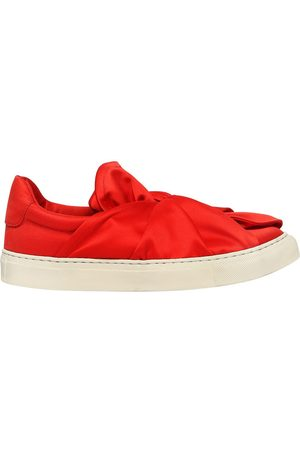 """PORTS 1961 20MM HOHE SLIP-ON-SNEAKERS AUS SATIN """"KNOT"""""""