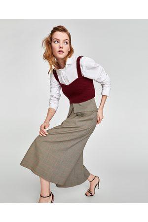 Zara CULOTTE MIT UMGESCHLAGENEM BUND