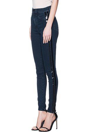 RAG&BONE Damen Skinny - Skinny Stripe Navy