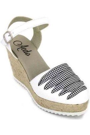Günstiger bester Verkauf Real zum Verkauf Aedo Sandalen 601 Sandalias Espadrilles de Mujer Schwarz ImdpqoK1Dd