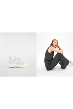 Zara Sneakers - SNEAKER MIT PLATEAUSOHLE