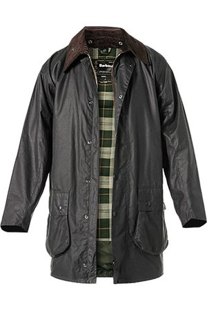 Herren Outdoorjacken - Barbour Jacke Border Wax MWX0008SG91
