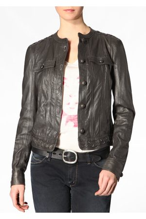 newest 83258 56eb6 Damen Lederjacke