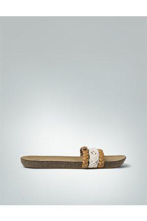 Damen Sandalen - Roxy Damen Sandale Sandale in Flecht- und Häkelband-Optik