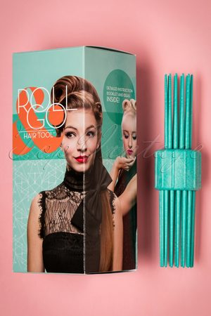 TopVintage DE Vintage Hairstyling: RollGo Pin Curl Hair Tool Set