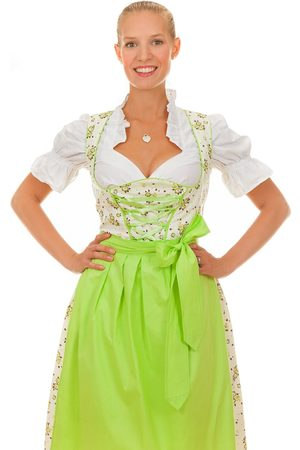 Edelnice Damen Dirndl - Midi Dirndl 3-teilig Valentina