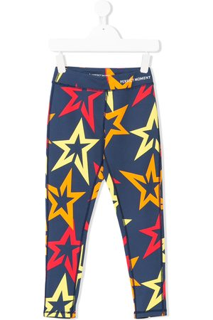 Perfect Moment Kids Leggings mit Stern-Print