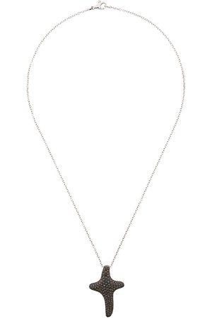 Gavello 18kt Weißgoldhalskette mit Diamanten