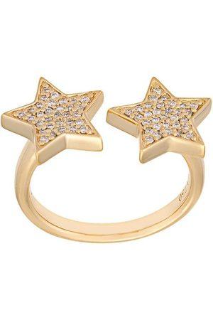 ALINKA 18kt 'Stasia' Gelbgoldring mit Diamanten