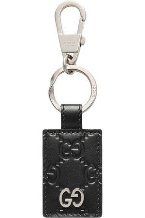 Gucci Schlüsselring mit Logo-Schild
