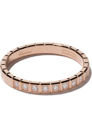 Chopard 18kt 'Ice Cube' Rotgoldring mit Diamanten