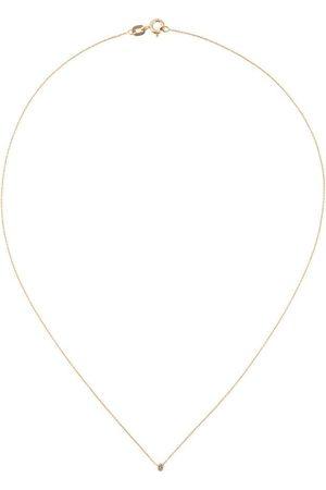 WOUTERS & HENDRIX 18kt kurze Rotgoldhalskette mit Diamanten