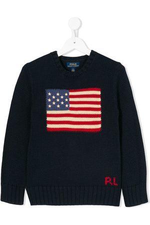Ralph Lauren Pullover mit Flagge