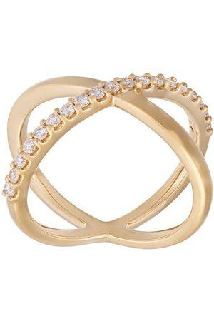 ALINKA Damen Ringe - 18kt 'Katia' Gelbgoldring mit Diamanten