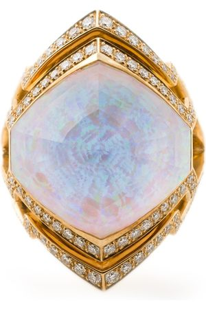 STEPHEN WEBSTER Kleiner 18kt 'Crystal Haze' Ring aus Weißgold
