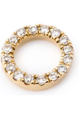 LOQUET Ringanhänger mit Diamanten aus 18kt Gelbgold
