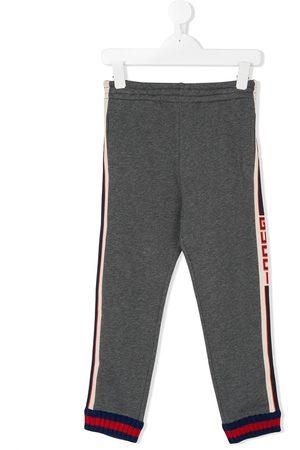 Gucci Jogginghose mit Logo-Streifen