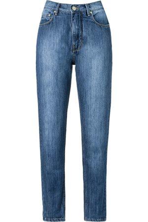 AMAPÔ Damen Straight - Jeans mit geradem Bein