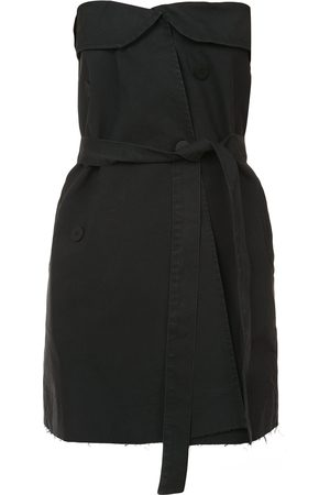Unravel Project Schulterfreies Minikleid mit Gürtel