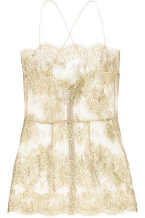 Gilda & Pearl Damen Unterhemden und Unterziehshirts - Semi-transparentes 'Harlow' Camisole-Top