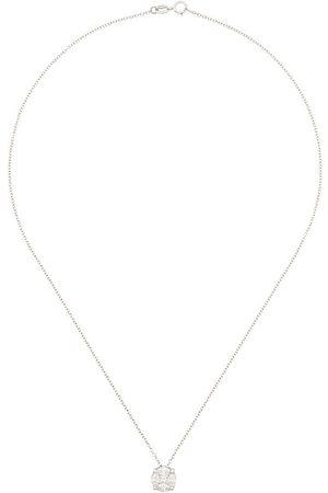 MONAN 18kt Weißgoldhalskette mit Diamanten