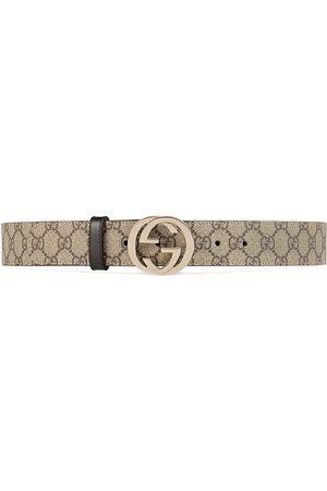 Gucci Damen Gürtel - Gürtel aus GG Supreme mit GG Schnalle