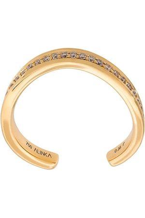 Alinka 18kt 'TANIA' Gelbgoldring mit Diamanten