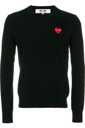 Comme des Garçons Pullover mit Herz-Logo