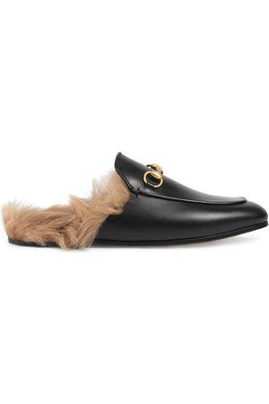 Gucci Princetown' Slipper aus Leder