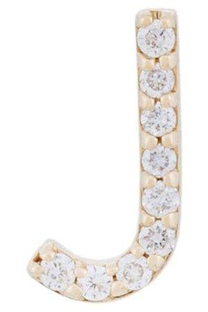 ALINKA 18kt ' ID' Gelbgoldohrstecker mit Diamante