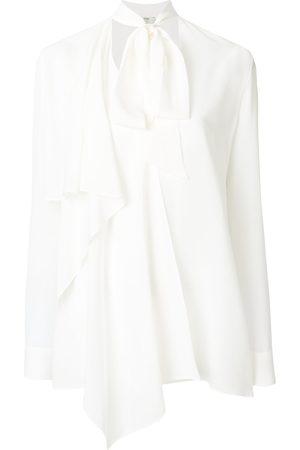 Fendi Faux-pearl embellished blouse